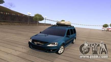 Lada Largus for GTA San Andreas