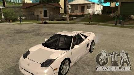 Acura/Honda NSX for GTA San Andreas