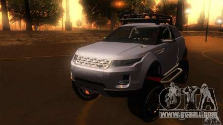 Land Rover Evoque for GTA San Andreas