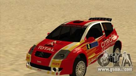 Citroen Rally Car for GTA San Andreas
