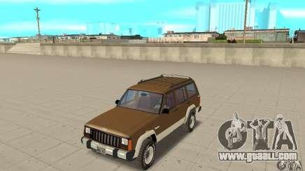 Jeep Grand Cherokee 1986 for GTA San Andreas