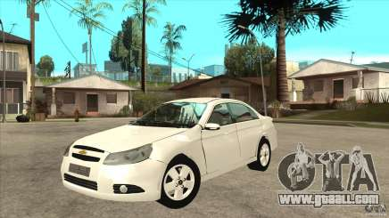 Chevrolet Epica 2008 for GTA San Andreas