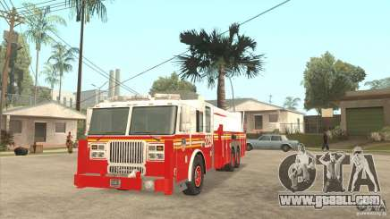 FDNY Seagrave Marauder II Tower Ladder for GTA San Andreas
