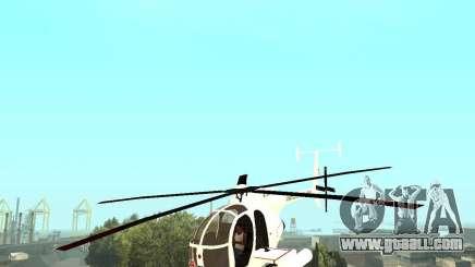 AH-6C Little Bird for GTA San Andreas