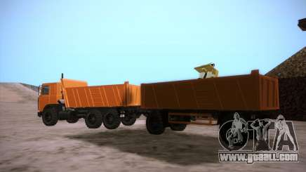 Trailer for MAZ 6317 for GTA San Andreas