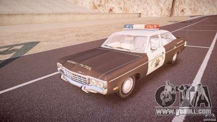 AMC Matador CHP [ELS] for GTA 4