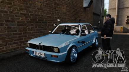 BMW E30 V8 Drift for GTA 4