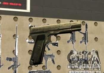 Tokarev TT Pistol for GTA San Andreas