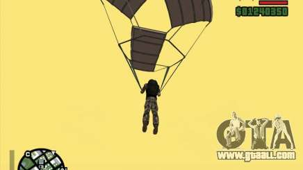 The New Parachute for GTA San Andreas
