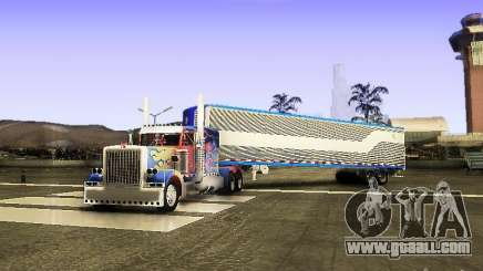 Truck Optimus Prime v2.0 for GTA San Andreas