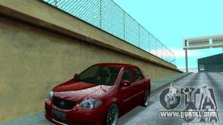Toyota Vios for GTA San Andreas