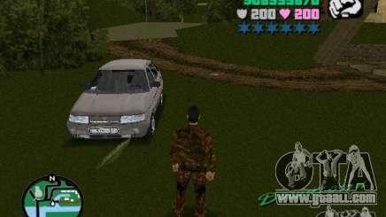 VAZ-2112 for GTA Vice City