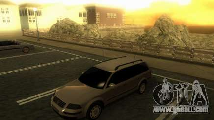 Vw Passat B5+ Wagon 1,9 TDi for GTA San Andreas