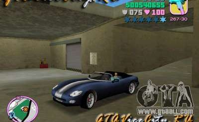 Dodge Viper from GTA 3 for GTA Vice City