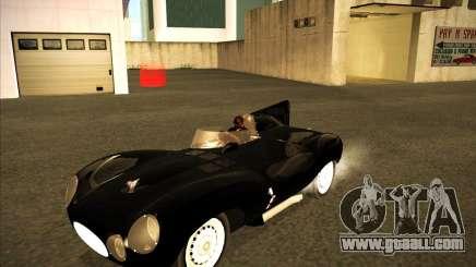 Jaguar D type 1956 for GTA San Andreas