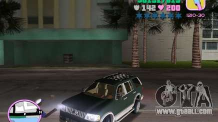 Ford Explorer for GTA Vice City