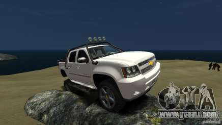 Chevrolet Avalanche 4x4 Truck for GTA 4