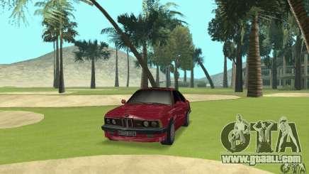 BMW M6 E24 stock for GTA San Andreas