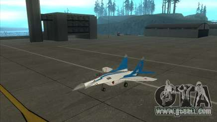 MiG-29 the Swifts for GTA San Andreas