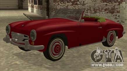 Mercedes Benz 190SL 1960 for GTA San Andreas