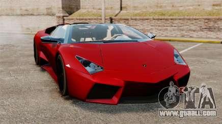 Lamborghini Reventon Roadster 2009 for GTA 4