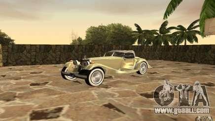 Mercedes-Benz 500K for GTA San Andreas