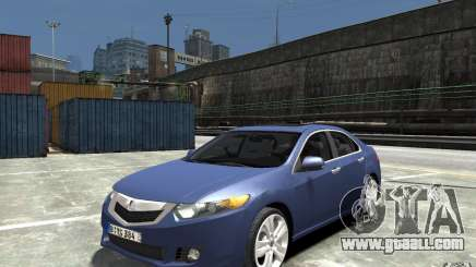 Acura TSX 2011 for GTA 4