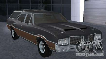 Oldsmobile Vista Cruiser 1972 for GTA San Andreas