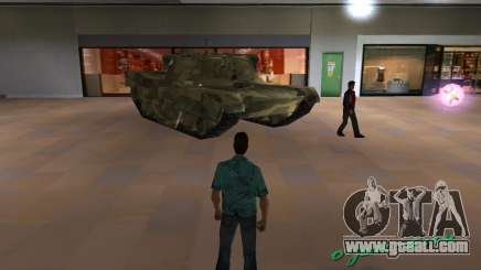 Camo tank for GTA San Andreas