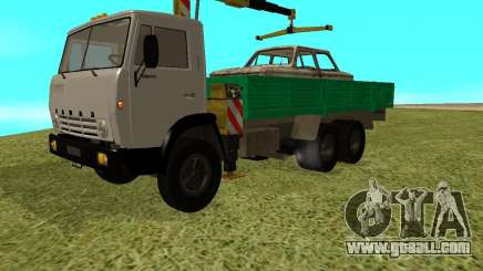 KAMAZ 53212 manipulator for GTA San Andreas