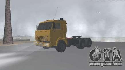 KAMAZ 54115 for GTA San Andreas