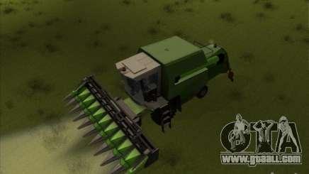 Deutz Harvester for GTA San Andreas