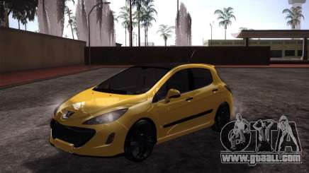 Peugeot 308 GTi 2011 for GTA San Andreas