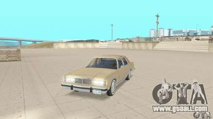 Mercury Grand Marquis LS 1986 for GTA San Andreas