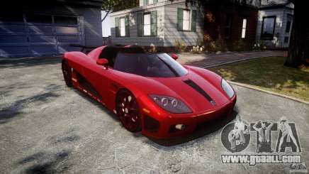 Koenigsegg CCXR Edition for GTA 4