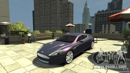 Aston Martin Rapide 2010 for GTA 4