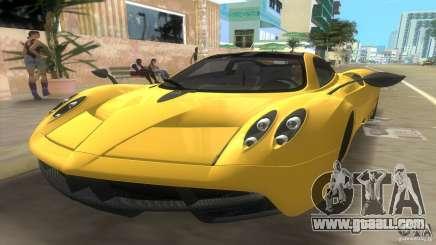 Pagani Huayra for GTA Vice City
