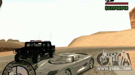 Koenigsegg CC8S for GTA San Andreas