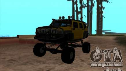 Hummer H3 Trial for GTA San Andreas