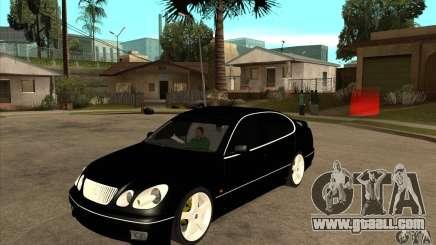 TOYOTA ARISTO 2001 year for GTA San Andreas