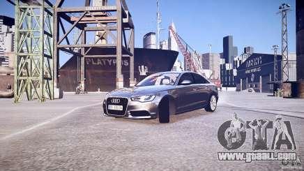 Audi A6 v1.0 for GTA 4