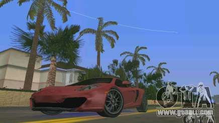 McLaren MP4-12C for GTA Vice City