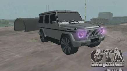 Mercedes-Benz G500 Kromma 1480 for GTA San Andreas