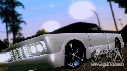 Slamvan Tuned for GTA San Andreas