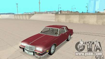 Pontiac Grand Prix 1985 for GTA San Andreas