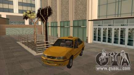 Daewoo Nexia Taxi for GTA San Andreas