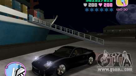 Porsche 911 Twin Turbo for GTA Vice City