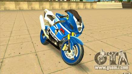 Suzuki GSX-R 1000 for GTA San Andreas