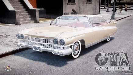 Cadillac Eldorado 1959 (Lowered) for GTA 4