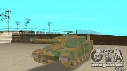 JGSDF Type90 Tank for GTA San Andreas